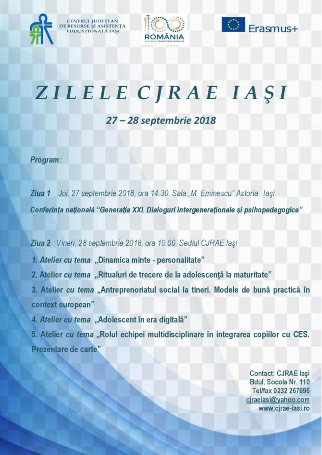 Days of CJRAE Iasi