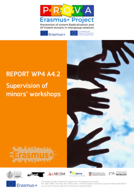 WP4. A4.2 ?SUPERVISION OF MINORS' WORKSHOPS